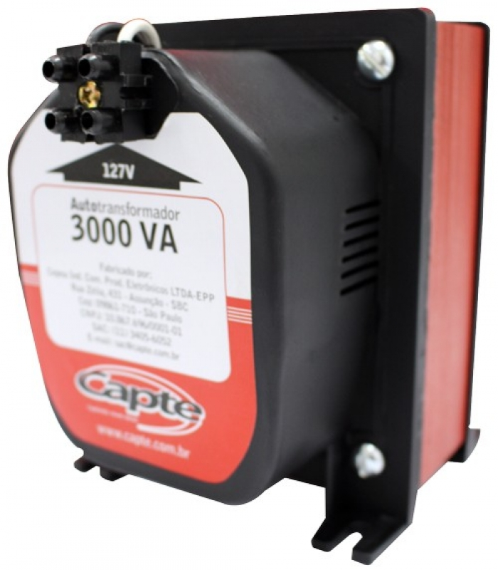 Capte - Auto transformador 3000VA/ 2100W Capte